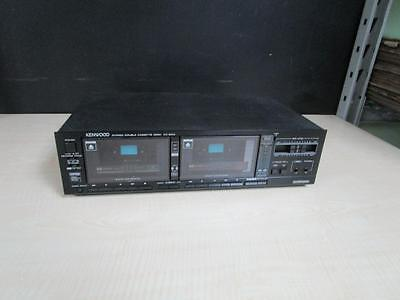 Kenwood KX-94W Dual Cassette Deck Made in Japan