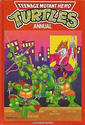Teenage Mutant Hero Turtles Annual 1990