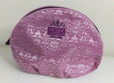 Ted Baker Bodywear Toiletry Bag/ Large Make Up Bag - Holidays, Travelling UNUSED