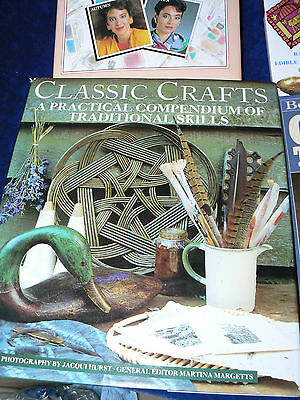 4 books-Classic Crafts-100 Clever Cr-GIFTS TO MAKE-Colour Me Beautiful Make up