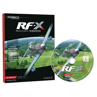 Great Planes RealFlight RF-X RC Aircraft Flight Simulator Software Only GPMZ4548