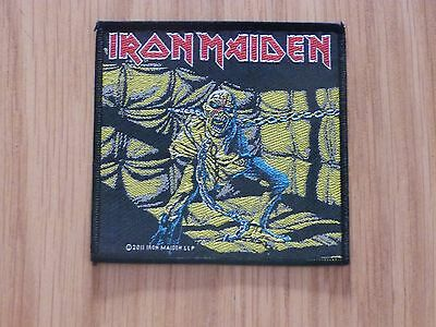 Iron Maiden - Piece Of Mind (New) Sew On W-Patch Official Band Merchandise
