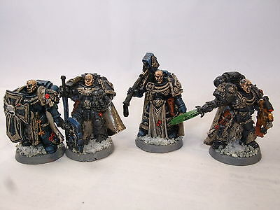 4 Space Marine Masters of the Chapter / Captains Warhammer 40,000 40k GW