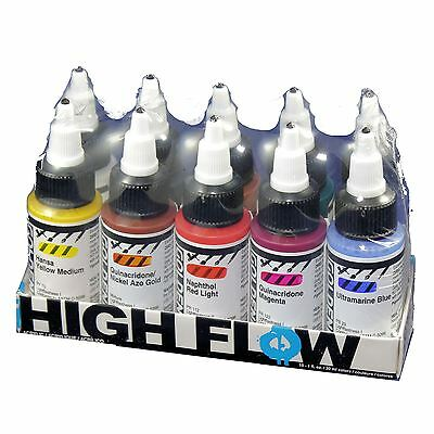 Golden High Flow Opaque set 10 x 30ml colours acrylic paint markers artists