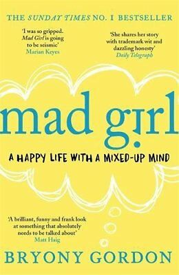 Mad Girl, Gordon, Bryony Book The Cheap Fast Free Post