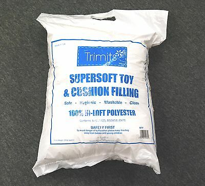 Super Soft Toy Stuffing Polyester Fibre Filling 250 to 1250 grams