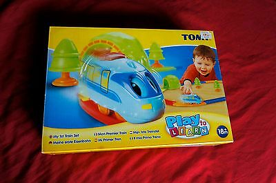 My first Train Set Tomy Baby Toddler Toy