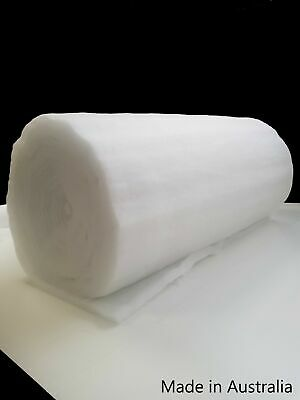 Polyester Wadding Dacron 1500 mm wide Option 200 to 300 grams Batting Post Incl