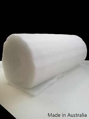 Polyester Wadding Dacron 1500 mm wide Option 250 grams Batting Post Incl