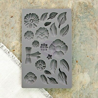 "Prima Marketing Inc: Vintage Art Decor Moulds - ""Rustic Fleur"""