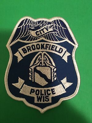 Brookfield  Wisconsin Police  Shoulder Patch