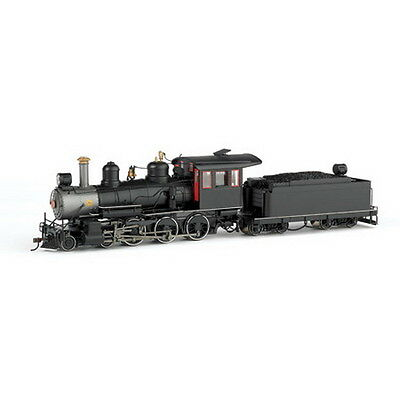 Bachmann 28698 On30 Painted & Unlettered Baldwin 4-6-0 Steel Cab w/DCC