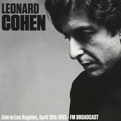 Leonard Cohen - Live In Los Angeles April 18th (Vinyl LP - 2017 - EU - Original)