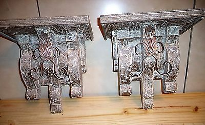 ~ Pair ~ Victorian 1880's style Corbels ~ designs*by*me originals