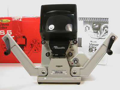 Professional Minette SUPER 8 VIEWER In Box W/Instructions Nice! Top of the Line.