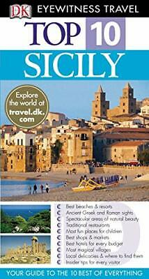 DK Eyewitness Top 10 Travel Guide: Sicily by Trigiani, Elaine Paperback Book The