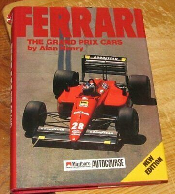 Ferrari: The Grand Prix Cars by Henry, Alan Hardback Book The Cheap Fast Free