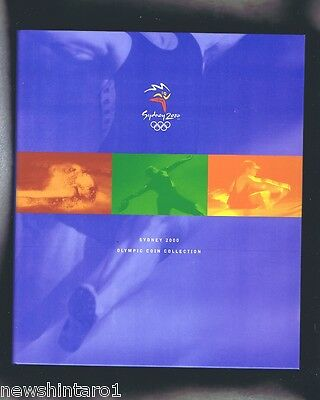 #ss.  Australian 2000 Sydney Olympic $5  Coin Collection
