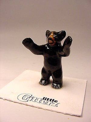"Little Critterz - LC101 ""Little John"" Black Bear Cub"