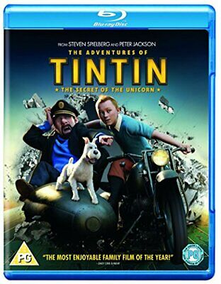 The Adventures of Tintin: The Secret Of The Unicorn [Blu-ray] [Re... - DVD  T0VG