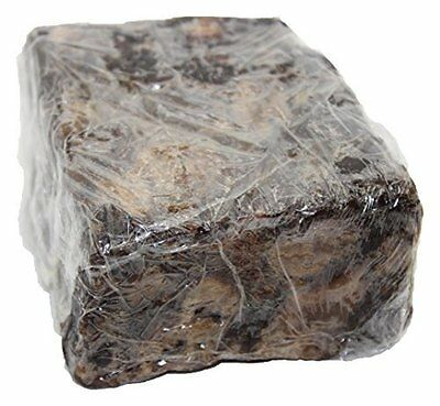 Our Earth's Secrets Raw African Black Soap to Clear Skin Bumps & Spots - 2 lbs