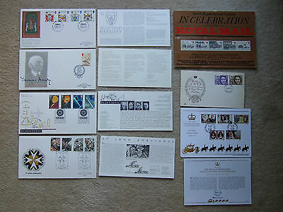 royal mail speed regularity & security celebration booklet + stamps 1984