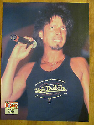 Audioslave, Chris Cornell, Full Page Pinup