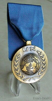 UN United Nations UNHQ - Headquarters Service Medal, 1974- Full Size Medal