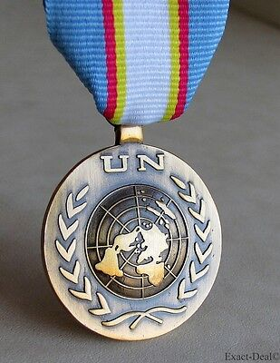 UN United Nations East Timor Full Size Replica Medal  UNTAET