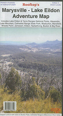 Rooftop's Marysville - Lake Eildon Map  - 4Wd - Camping - Fishing - Hunting