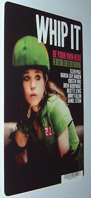 WHIP IT movie backer card ELLEN PAGE **This is NOT a movie**