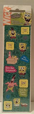 SPONGEBOB SQUAREPANTS STICKERS Nickelodeon 2004 NICK