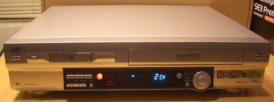JVC HR-DVS3U DVS3 Mini DV MiniDV SVHS ET Player Recorder Dual Deck VCR ~SR-VS30U