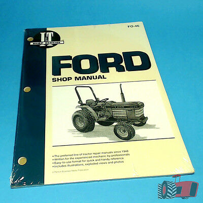 FO46 Workshop Manual Ford 1120 1520 1720 2120 Tractor - built by IHI Shibaura