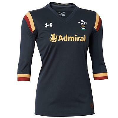 Under Armour Wru Welsh Rugby Latest/2016 Womens Official Alternate / Away Shirt