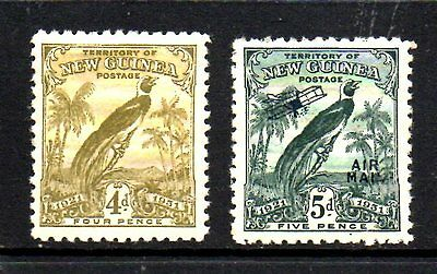 Stamps From New Guinea 1931.