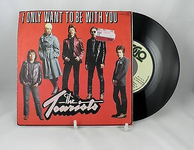 """The Tourists - I Only Want To Be With You 7"""" Single 1980 - Spanish Pressing"""