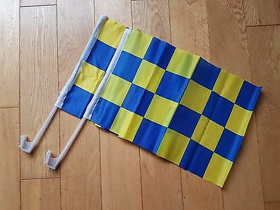 County Tipperary,roscommon,clare, 2 X Checkered Car Flags  Gaelic/hurling Gaa