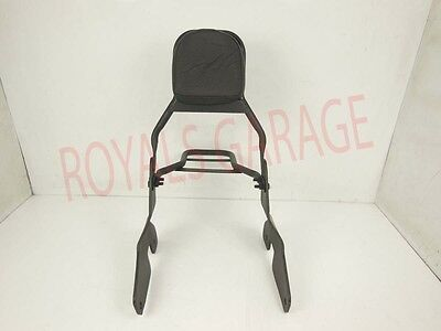 Royal Bikes  Harley Iron 883  Backrest  With Carrier In Black