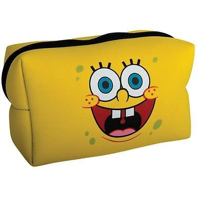 Spongebob Squarepants - Happy Face  Wash Bag - New & Official With Tag