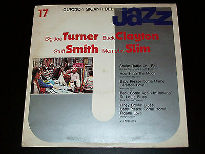 Big Joe Turner / Memphis Slim ‎etc - I Giganti Del Jazz Vol. 17 - FOC - LP [EX]