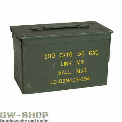 Original Us Munitionskiste Metall Ammo Box Bundeswehr Transportkiste Bw Kiste