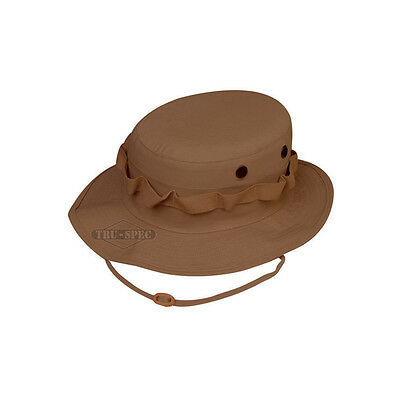Boonie Hat - Poly Cotton Ripstop Military - TRU-SPEC 3243 - Coyote Brown