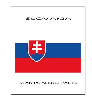 Slovakia Stamps Album Pages 1990-2014 - Pdf File 110 Ilustrated Pages