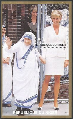 Niger 1997 Princess Diana/Mother Theresa/Royalty/people m/s b2888