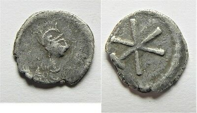 ZURQIEH -aa2396-  BYZANTINE. ANONYMOUS ISSUES, TIME OF JUSTINIAN I, C. 530. AR 1