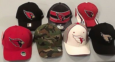 e2aa3d1c1 Arizona Cardinals Select 1 Of 7 Flex Fit Fitted Vintage Throwback Nfl Cap  Reebok