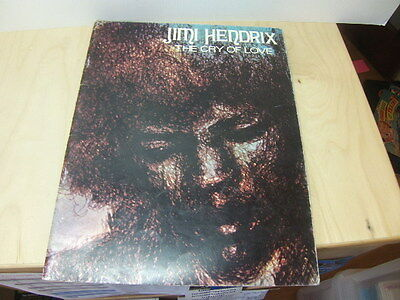 Jimi Hendrix – The Cry of Love 36-page Song Book shroeder music publishing 1971