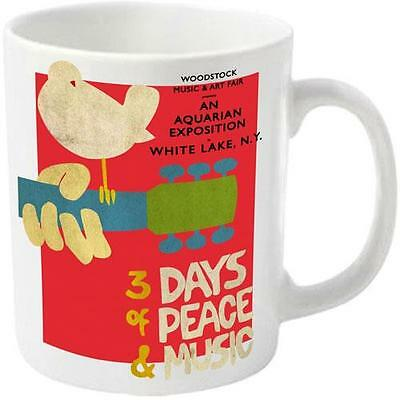Woodstock - 3 Days Of Peace And Music Ceramic Mug New & Official In Display Box