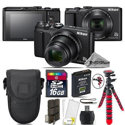 Nikon Coolpix A900 20MP Digital Camera 35x Optical Zoom + 16GB - Essential Kit